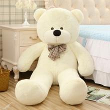 120CM Large Genuine Hug Teddy Bear Urso De Pelucia Plush Stuffed Animal Dolls Kids Toys Brinquedos Teddy Bear Girlfriends Gift