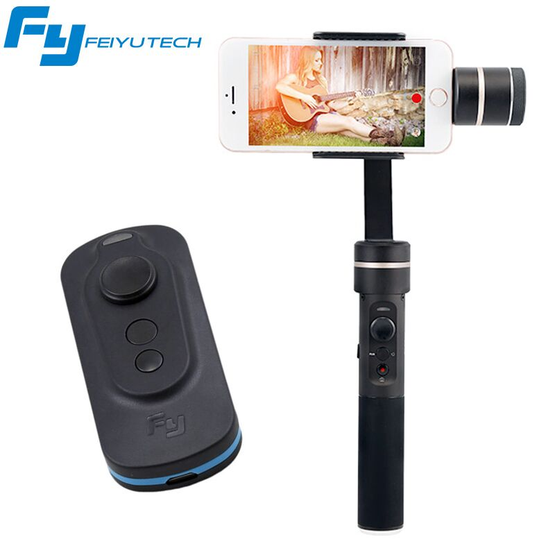 Feiyu FY SPG C 3 Axis Handheld Gimbal with Remote Control for Smartphone Stabilizer for iphone
