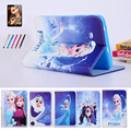 Latest Cartoon case for samsung galaxy tab 3 lite 7.0 SM-T110 T111 7'' tablet cover case for samsung t113 t116 + film +stylus