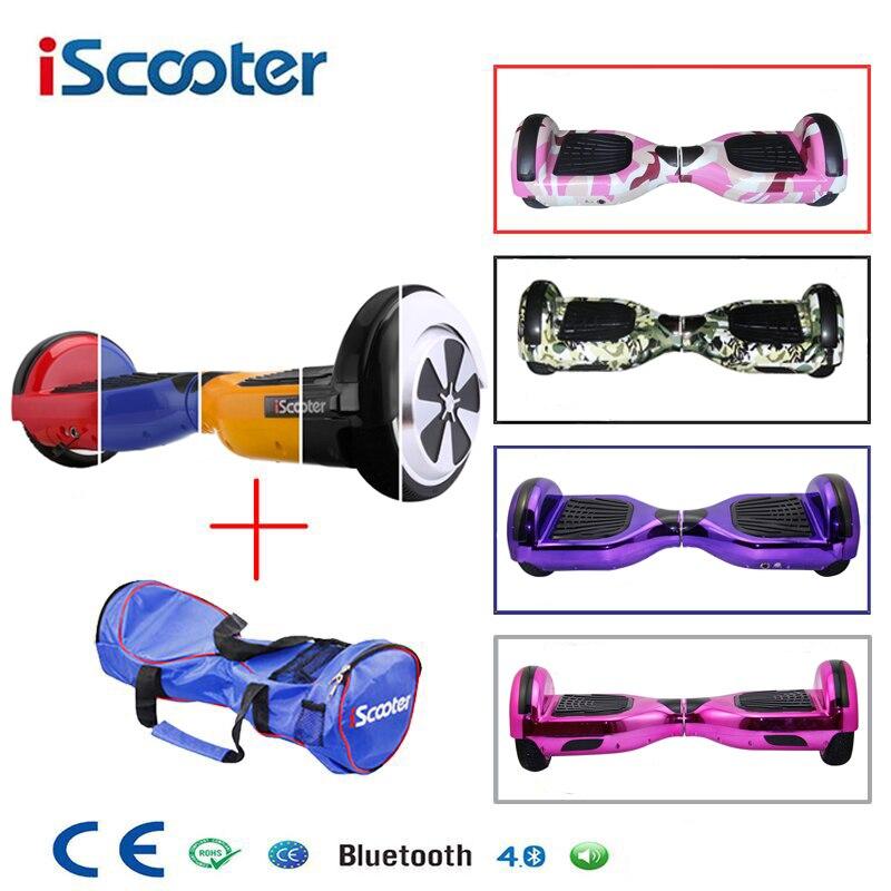 Hoverboard Bluetooth altavoz eléctrico Giroskuter 2 rueda auto equilibrio scooter Eléctrico unicycle Standing Smart dos ruedas scooter