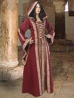 Средневековый Платье Дева Мэриан Костюм Горничной Таверне Ренессанс Платье Модели Для Женщин