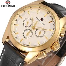 Forsining новые модные водонепроницаемые мужские s часы лучший бренд Роскошные автоматические часы мужские серебряные механические часы reloj hombre