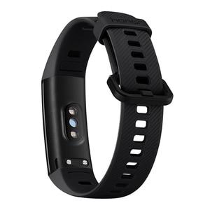 Image 5 - Huawei Honor Band 4 bandes 5 0.95 pouces AMOLED couleur écran 5ATM étanche Posture de bain détecter la fréquence cardiaque sommeil Snap