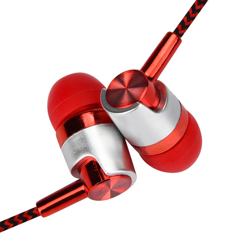 Earphones In-Ear Universal 3.5mm In-Ear Stereo Earbuds Earphone With Mic For Cell Phone Good Sound Quality Islamabad