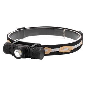 Image 5 - BORUiT D10 XM L2 LED Mạnh 3000LM Chống Nước Đèn Pha Sạc USB 18650 Đầu Đèn Pin Dùng Cho Cắm Trại, Đi Xe Đạp