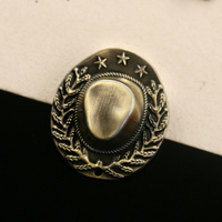 2017 New Limited Brooches For Broche Retro Wild Five-pointed Star Hat Eagle Brooch Cloak Buckle Jacket Pin Cardigan Men And