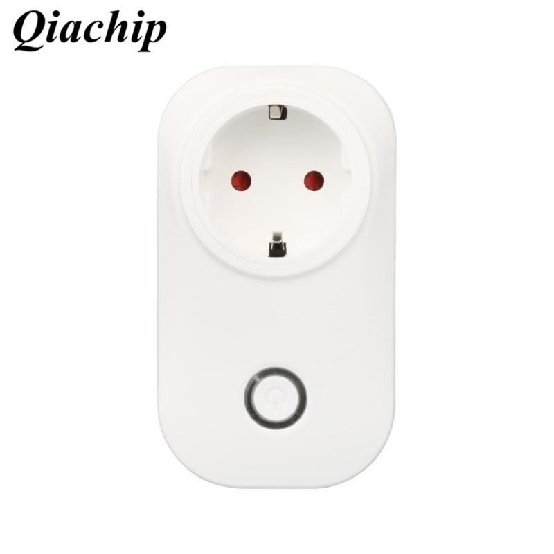 Wifi Smart Socket Smart Home Wireless Relay Remote Control Timer Socket App Control EU Amazon Alexa Power Supply Plug Voice A xenon wireless wifi socket app remote control smart wifi power plug timer switch wall plug home appliance automation eu style