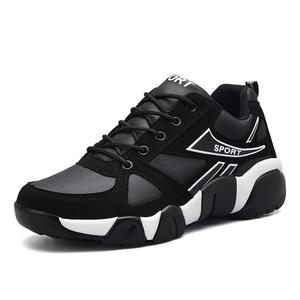 Image 2 - AODLEE Sneakers erkekler rahat ayakkabılar deri çift erkek ayakkabı rahat nefes erkekler Sneakers eğitmenler tenis masculino adulto