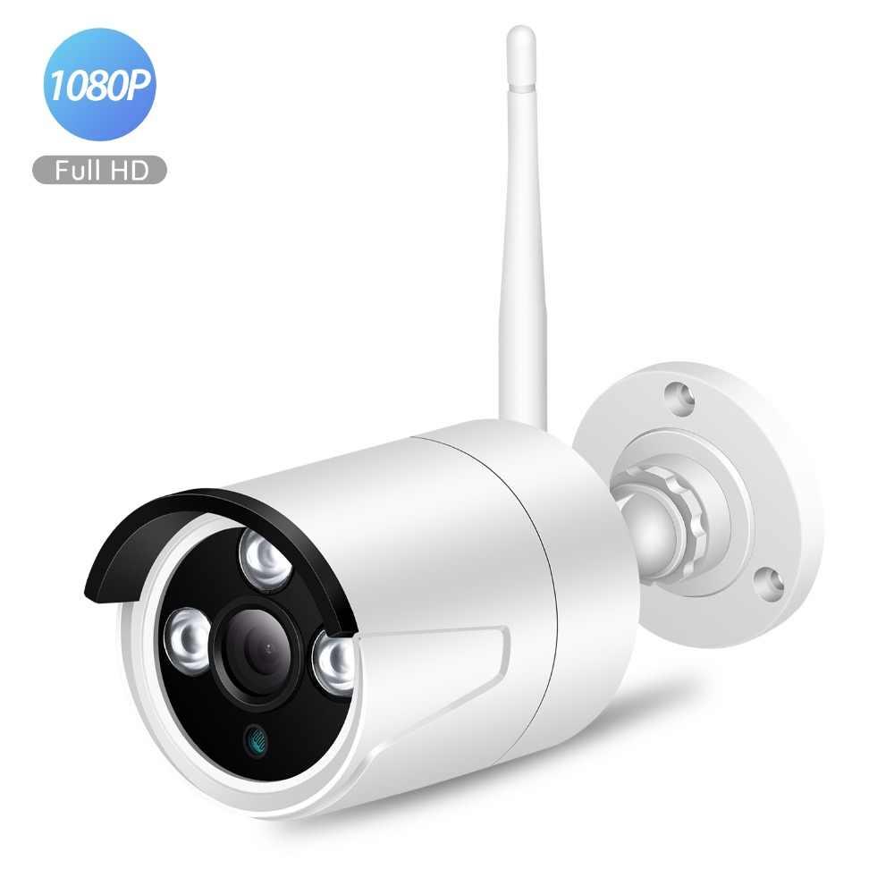 BESDER Outdoor 1080p Wireless IP Camera H.264 Metal Case Home Security Camera WiFi Camera ONVIF RTSP Micro SD Card Slot CamHi