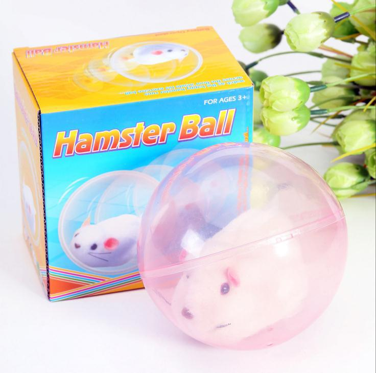 Classic Toys! Will Walking Rolling Hamster Electronic Toys,Electronic Pets Toy,Children The Best Gift, Free Shipping