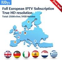IPTV Italia Germany UK Italian Spanish Greek Sweden Hot IPTV M3u IUDTV 3 6 12 Months
