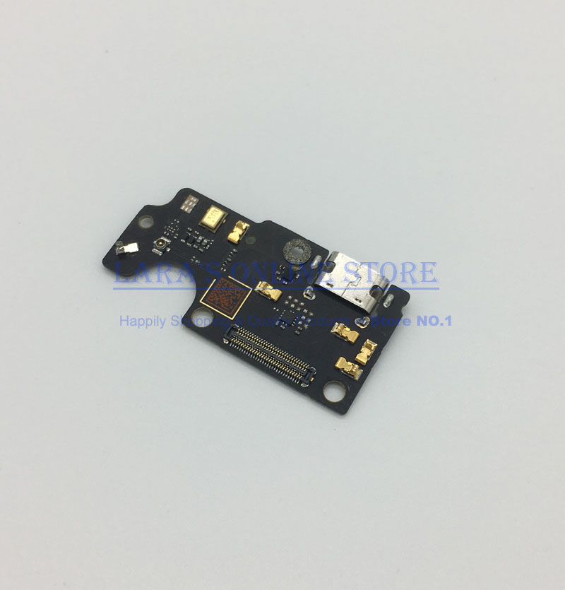 QC Tested for ZTE Axon7 A2017 Micro USB Charging Port Dock Connector W/ Microphone Flex Cable Replacement Parts