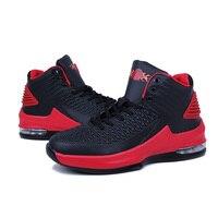 2017 новая мужская и женская Баскетбольная обувь дышащая спортивная баскетбольная спортивные ботинки для мальчиков Дешевые Баскетбол обувь
