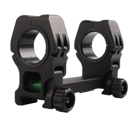 M10 Rifle Scope Mount with Bubble Level 25.4 / 30MM Rings Mount Picatinny Weaver Rail 20mm For Rifle and Airsoft RL2 0033