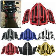 Pé para moto para moto, placa de pé para moto yamaha tmax530 tmax 530 t-max 530 2012 2013 2014-16 almofadas de placa de pino