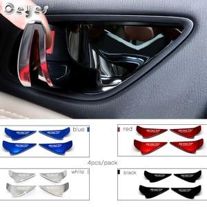 Image 4 - Ceyes Car Chrome Styling Accessories Door Handle Wrist Bowl Trim Sticker Case For Mazda Skyactiv Technology CX 5 CX5 CX3 6 Axela