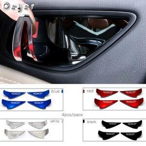 Image 4 - Ceyes garniture de bol pour poignée de porte de voiture, Chrome, technologie CX 5 CX5 CX3 6 Axela, poignée de porte boîtier à autocollants pour Mazda Skyactiv