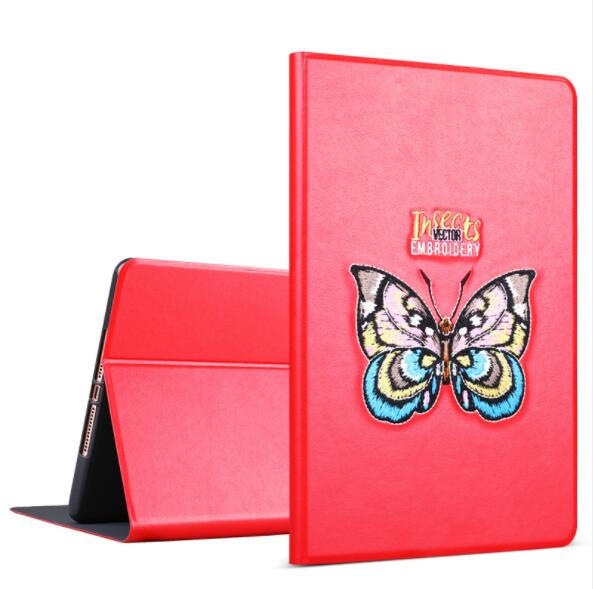 9.7 inch embroidery tablet pc cover air 2 1 silicone case for pad mini 1 2 3 4
