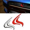 Estilo do carro 3D de Alumínio Fogo Chama Chrome Emblema Do Emblema Do Decalque Adesivo adesivos de Volta Logo Evolution X Para MITSUBISHI Lancer