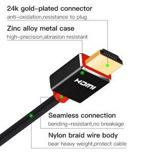 Image 4 - SL HDMI câble 2.0 3D HDR 4K 60Hz pour commutateur de répartiteur PS4 LED TV xbox projecteur ordinateur câble hdmi 1m 2m 3m 5m 10m 15m 20m