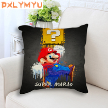 Cushion Cover PUBG Nier Automata Crash Bandicoot Game Printed Cartoon Pillowcase Throw Pillow Case Linen