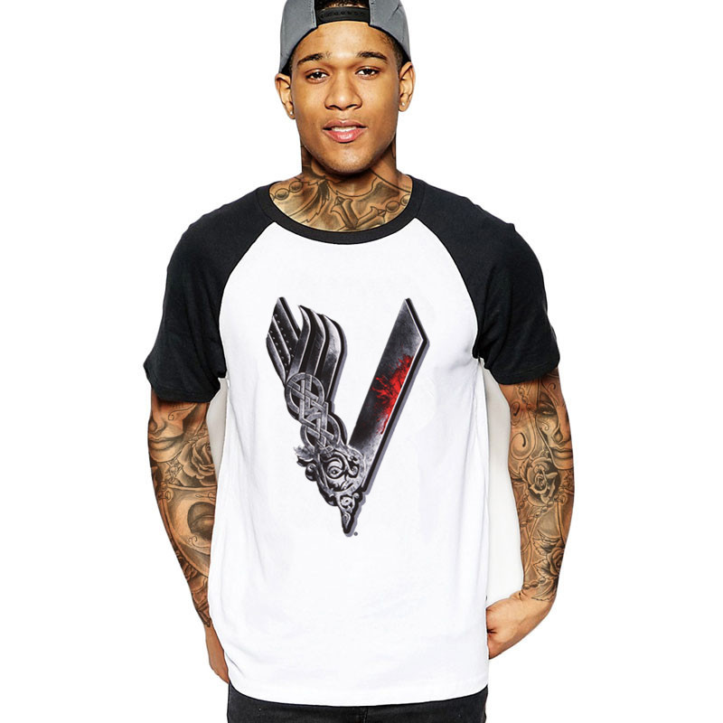 ef755b544 Detail Feedback Questions about Gorgeous Youth Funny Viking T Shirts Men  Boys Cotton Short Sleeve Odin Vikings Group Tops Tshirt Clothing Male  Viking T ...