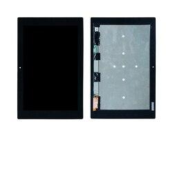 Per Sony Xperia Tablet Z2 SGP511 SGP512 SGP521 SGP541 Touch Screen Digitizer Gruppo dello Schermo di Vetro A Cristalli Liquidi di Trasporto libero