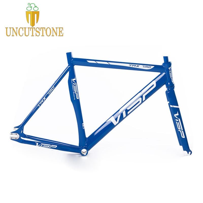 790 VISP Fixed Gear Bike Frame  Track Bike Frame Aluminum Alloy Frame Steel Fork 48cm 50cm 52cm 50cm  52cm 50cm 52cm  56cm 60cm