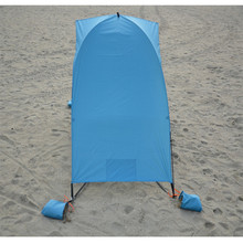 Blue Beach Tent and Umbrella