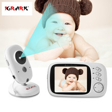 IGRARK Baby Monitor 2.4G Wireless IP Camera with 3.2 Inches LCD 2 Way Audio Talk Night Vision Surveillance Security Camera(China)