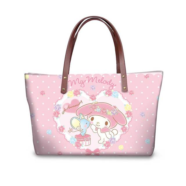 41975691d11a Luxury Handbags Women Girl Bags Designe My Melody School Shopping Surplise  Bag Tote Bag Customized DIY Picture The best Gift