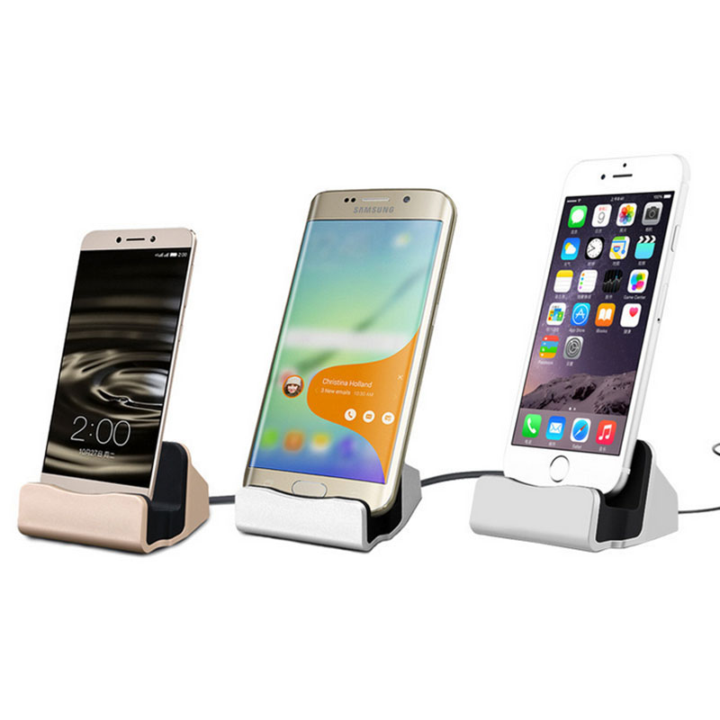 1 Pcs Universal Android Type C Connector Charger Micro Charging Sync Docking Station for Huawei honor