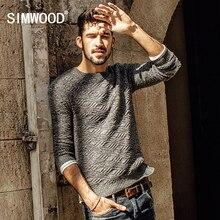 SIMWOOD Neue Herbst Winter 2016 Neue ankunft mode pullover männer casual pullover hohe qualität marke kleidung MY2045