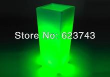 Glowing lighting LED flower pot Remote control color changing RGB led flower pot SL LFP 3050F