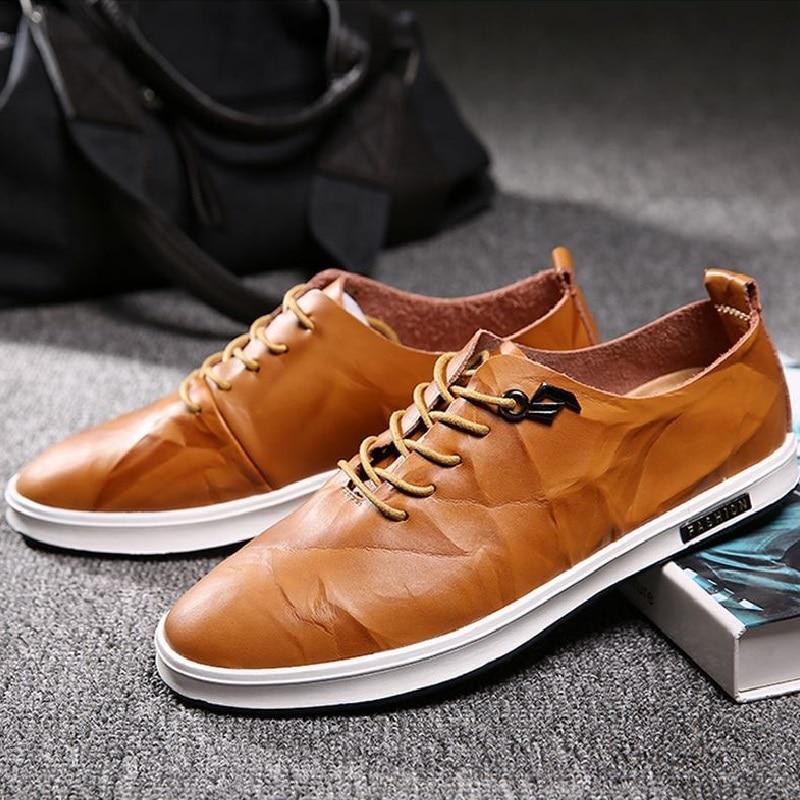 Preto Homens Britânico Oxford Verão Casamento Aa20445 cáqui Masculinos Dos De Primavera Básico Vestido Formais Escuro Moda cáqui Sapatos Negócios Plana z1fntx
