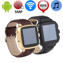 5MP Camera Smart Watch Support 3G Wifi GPS WCDMA SIM TF Card Android Smartwatch MP3 Intelligent