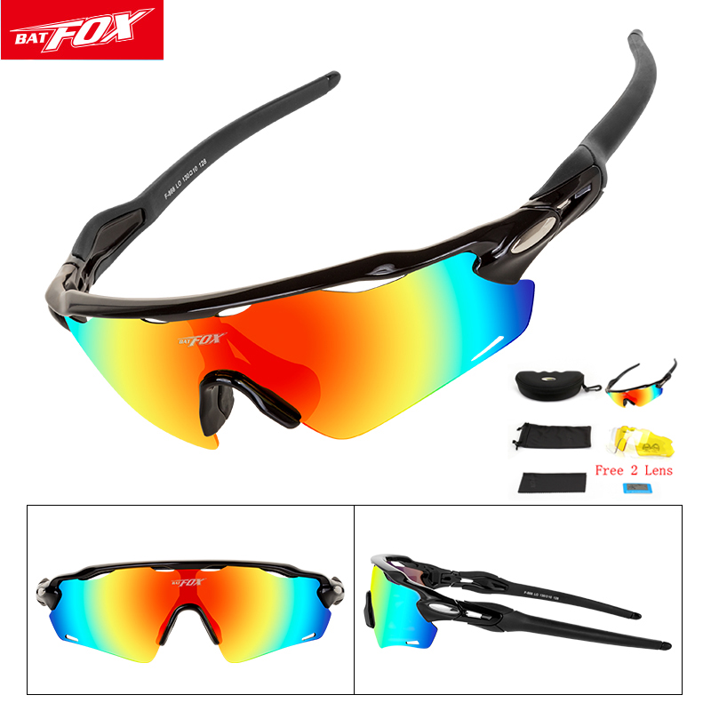 Спортивные мужские велосипедные солнцезащитные очки batfox с