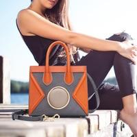 2017 Lovely Girl коровьей маленькая сумка через плечо Для женщин Курьерские Сумки из натуральной кожи Женская сумочка известный бренд Для женщин с