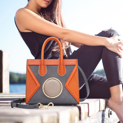 2017 Lovely Girl Cowhide Small Crossbody Bag Women Messenger Bags Genuine Leather Lady Bag Famous Brand Women's Shoulder Bag