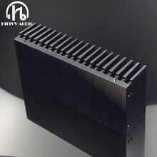Hifivv เสียง DIY Cooler ฮีทซิงค์อลูมิเนียม Grille รูปร่างหม้อน้ำความร้อนชิป 155*67*40 มม.IC ทรานซิสเตอร์