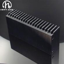 Hifivv audio DIY Kühler Aluminium Kühlkörper Grille Form Kühler Kühlkörper Chip 155*67*40mm IC Power transistor