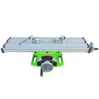 Milling Machine Vise Mini Compound Bench Bracket Miniature Aluminium Alloy Multi Purpose Cross Slide Table Carriage