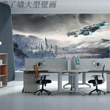Free Shipping star wars wallpaper outer space science fiction war wallpaper mural