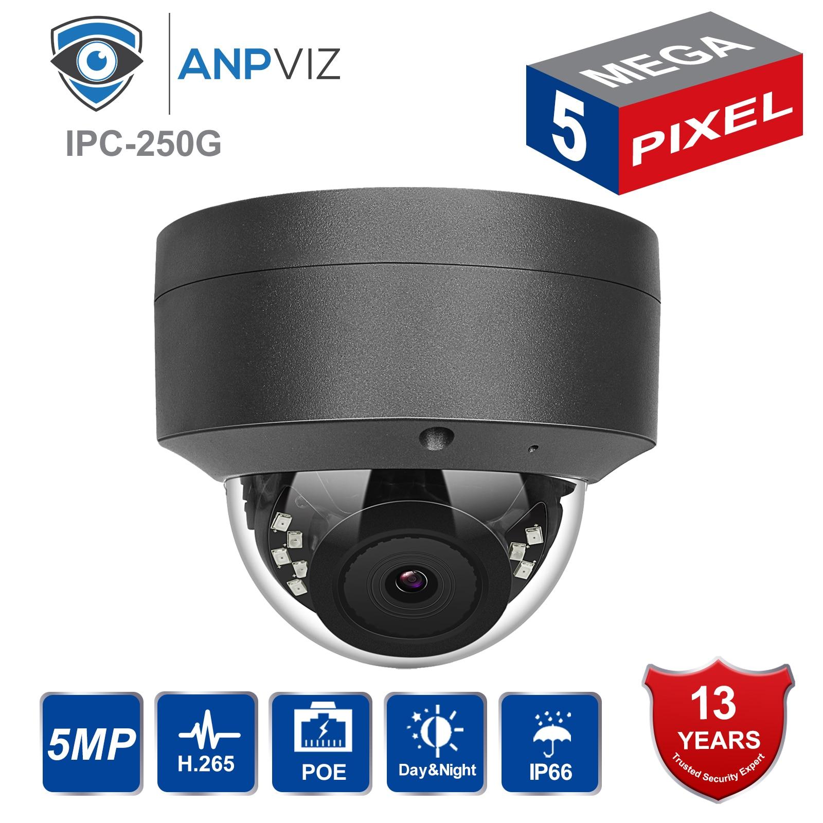 Hikvision 5MP IP POE caméra extérieure H.265/H.264 dôme sécurité CCTV réseau caméra grand Angle 2.8mm, 30 M IR ONVIF