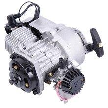 Dirt-Bike Scooter Engine 2-Stroke-Pull-Start Quad Pocket 49CC Mini Transmission Fits