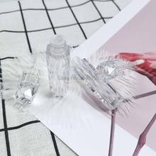 واضح فارغة الشفاه لمعان أنبوب DIY البلاستيك الماس زجاجة ملمع شفاه ملمع الشفاه زجاجة تعبئة التجميل الحاويات 30 قطعة/الوحدة