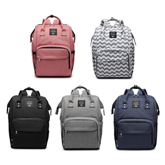 Fashion Mummy Maternity Nappy Bag High Quality Large Capacity Baby Bag Travel Backpack Designer Nursing Bag for Baby Care