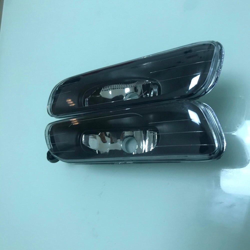 Pour BMW 3 Series E46 1999 2000 2001 1 paire pare-chocs avant halogène feux de brouillard feux de brouillard sans ampoule voiture style remplacement