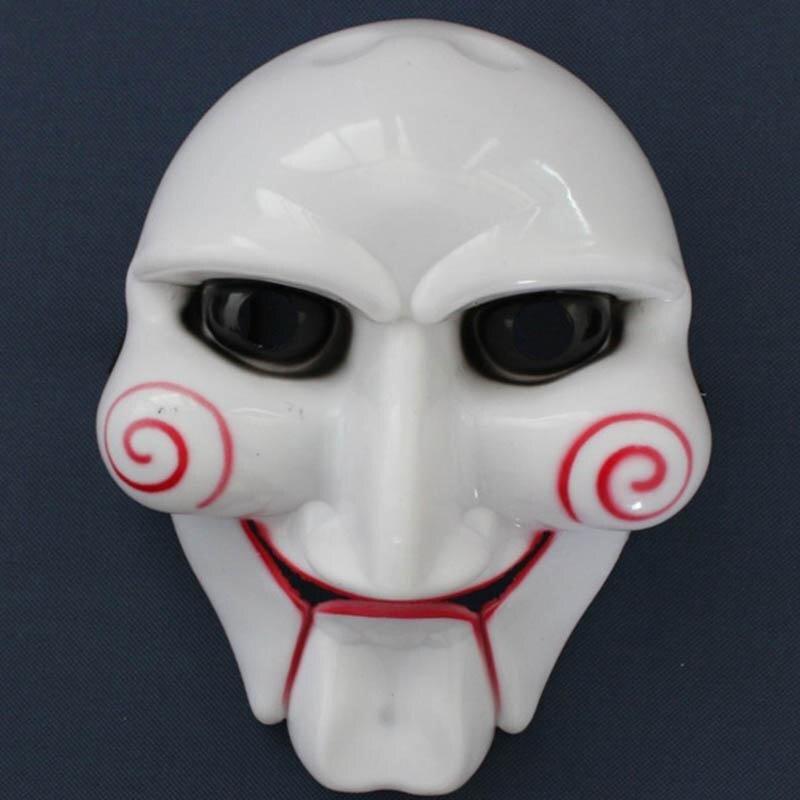 Electric Halloween Cosplay Billy Jigsaw Puppet Face
