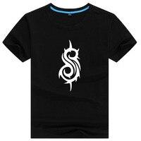 Slipknot Mens Letter Print T Shirt Swag Skateboard British Hiphop Male Printed Tshirt Man T Shirts